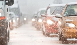 ГИБДД предупреждает водителей об осложнении ситуации на дорогах из-за погоды