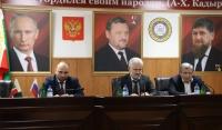 Муслим Хучиев представил коллективу МИЗО ЧР нового руководителя