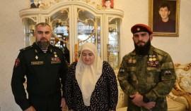 Аймани Кадырову наградили медалью Управления Росгвардии по ЧР