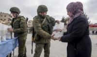 Российские военные передали 10 тонн помощи жителям сирийского города Мисраба