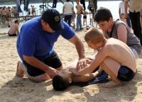 Акцию «МЧС за безопасное детство» провели на Грозненском море
