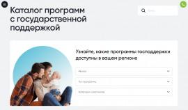 В РФ разработан каталог региональных программ поддержки граждан