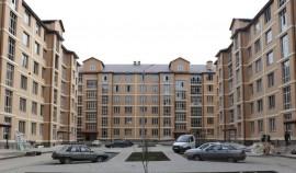 В Грозном по улице Сайханова возводится новый жилой комплекс