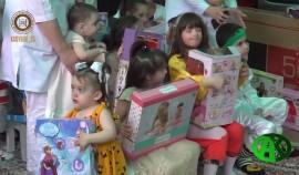 В Грозненском Психоневрологическом центре лечения и реабилитации детей отметили День защиты детей
