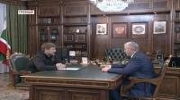 Р.Кадыров и И.Байханов обсудили проблемы в системе образования