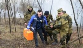 В Чеченской Республике прошли учения по ликвидации лесного пожара