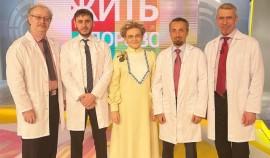 Чеченские медики приняли участие в записи передачи «Жить здорово!» на Первом канале