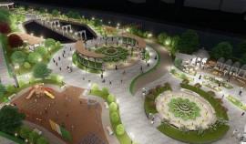 В центре города Шали начато строительство парка