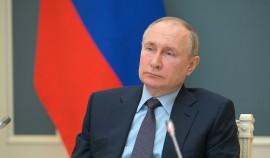 Владимир Путин обратился с посланием к Федеральному Совету
