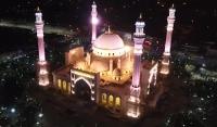 В мечети имени Рамзана Кадырова полностью готова система освещения