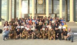 В Грозном подвели итоги учений волонтёров Национального центра помощи пропавшим и пострадавшим детям
