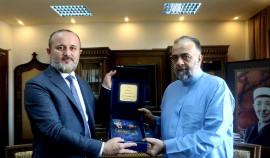 Турко Даудов встретился с министром по делам религии и вакуфов САР