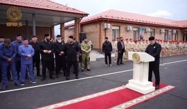 В селе Аллерой открыли Центр духовно-нравственного и военно-патриотического воспитания