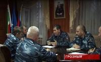 В Чечне уволен полицейский
