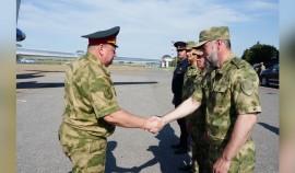 Заместитель директора Росгвардии РФ совершил рабочую поездку на Северный Кавказ