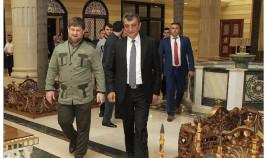 Глава ЧР поздравил Сергея Меняйло с назначением на должность