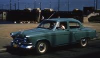 """10 октября 1956г. выпущен первый серийный автомобиль Газ-М21 """"Волга"""""""