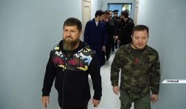 Рамзан Кадыров проверил ход строительства ипподрома на границе с Аргунским городским округом