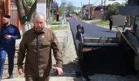 Мэр Грозного Иса Хаджимурадов провел инспекцию по столичным стройплощадкам