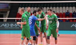 Волейбольный клуб «Грозный» принимает участие в чемпионате России