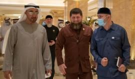 Рамзан Кадыров в ходе поездки в ОАЭ встретился с Наследным принцем Абу-Даби Мухаммедом бен Заедом Аль Нахайаном