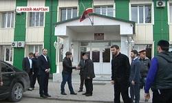 Р. Кадыров посетил Ачхой-Мартановский район
