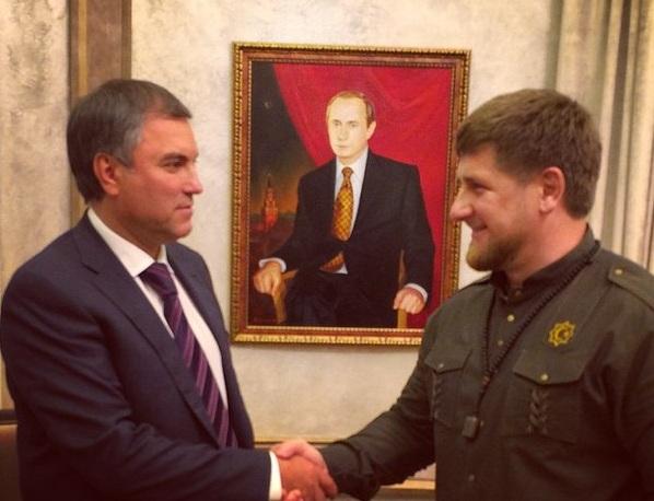В Москве состоялась встреча Р. Кадырова с В.Володиным