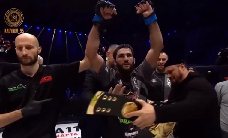 Абубакар Вагаев стал новым чемпионом АСА в полусреднем весе
