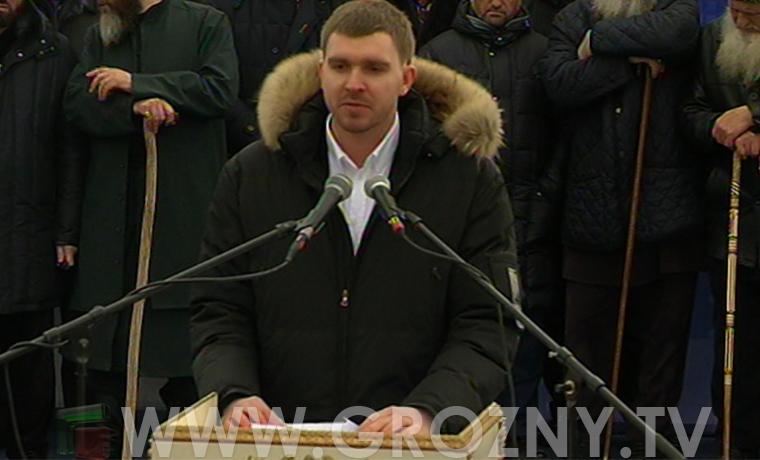 Красноярский депутат приехал поддержать Кадырова