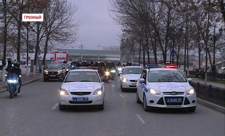 Инспекторы ГИБДД и байкеры из клуба «Ночные волки» провели дорожную акцию «Внимание, мотоциклист!»