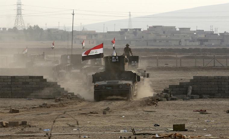 Иракские военные начали штурм Мосула с восточной стороны города