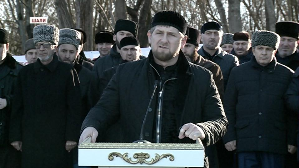 В Чечне открыто мемориальное кладбище, на котором похоронены мюриды Кунта-Хаджи Кишиева