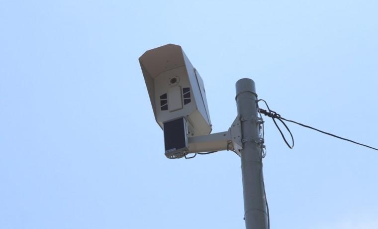 На дорогах ЧР в рамках дорожного нацпроекта установлено пять камер фотовидеофиксации