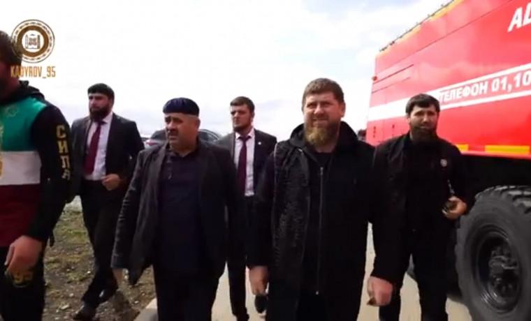 РОФ им. А.-Х. Кадырова построит новый дом для погорельцев из села Кади-Юрт