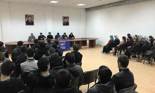 В  Чеченской Республике прошли встречи по духовно-нравственному воспитанию молодежи