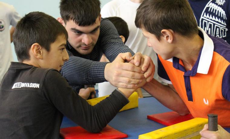 В Шелковском районе Чечни прошли спортивные игры, приуроченные ко Дню народного единства
