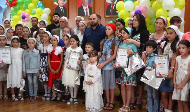 В Грозном подвели итоги конкурса «Мир глазами детей»