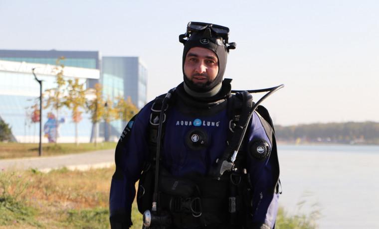 Сотрудник МЧС из Грозного признан лучшим спасателем-водолазом СКФО