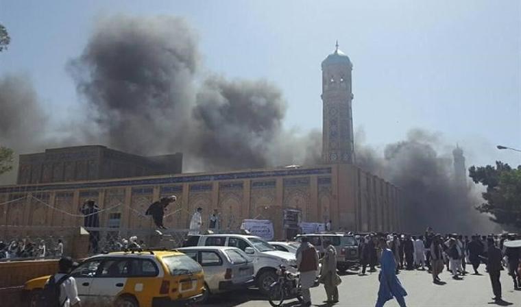 ИГ устроила взрыв в афганской мечети