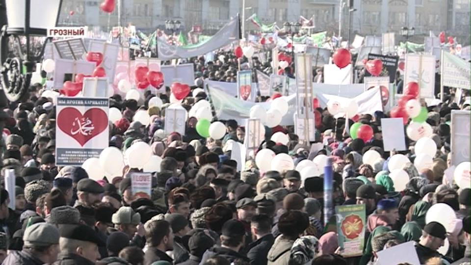 Единство мусульман России в протесте против карикатур