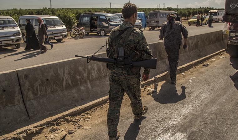 Вывод боевиков из города Дума в Восточной Гуте находится под контролем российских военных