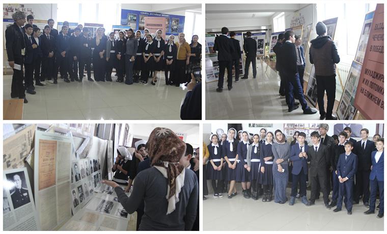 Национальный музей Чечни провел передвижную выставку в селении Шалажи