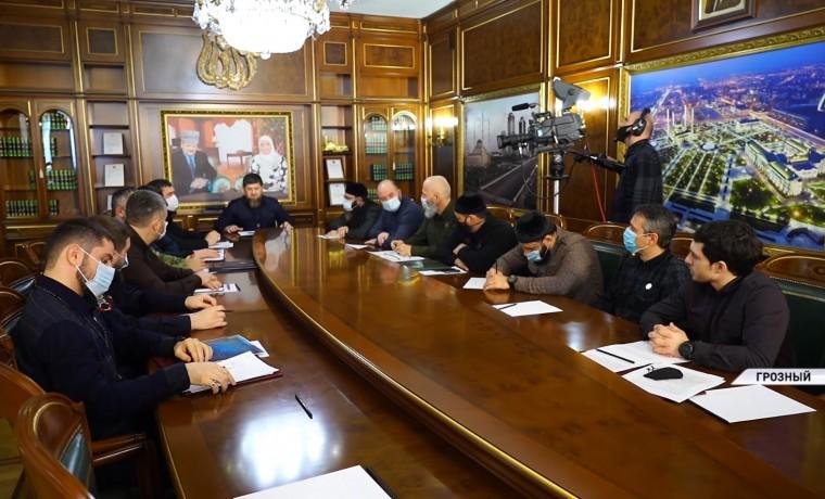 Рамзан Кадыров высоко оценил работу Оперативного штаба по борьбе с COVID-19