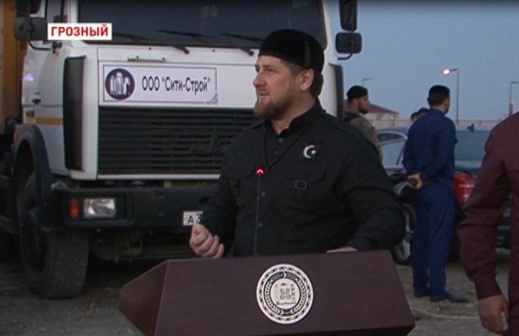 В Грозном состоялась закладка капсулы под строительство многофункционального комплекса «Башня Ахмат»