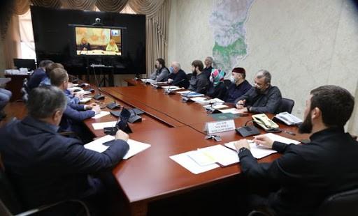 Магомед  Даудов принял участие в заседании рабочей группы Госсовета РФ по борьбе с COVID-19