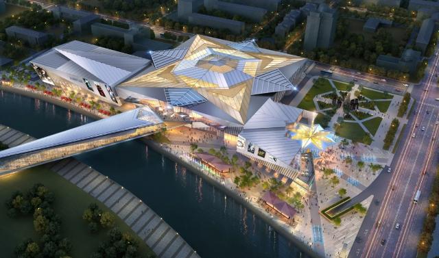 В Грозном ведется строительство 90 торговых объектов