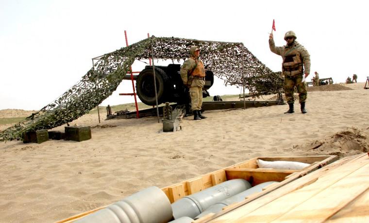 В Чеченской Республике провели учения артиллерийского полка Северо-Кавказского округа Росгвардии