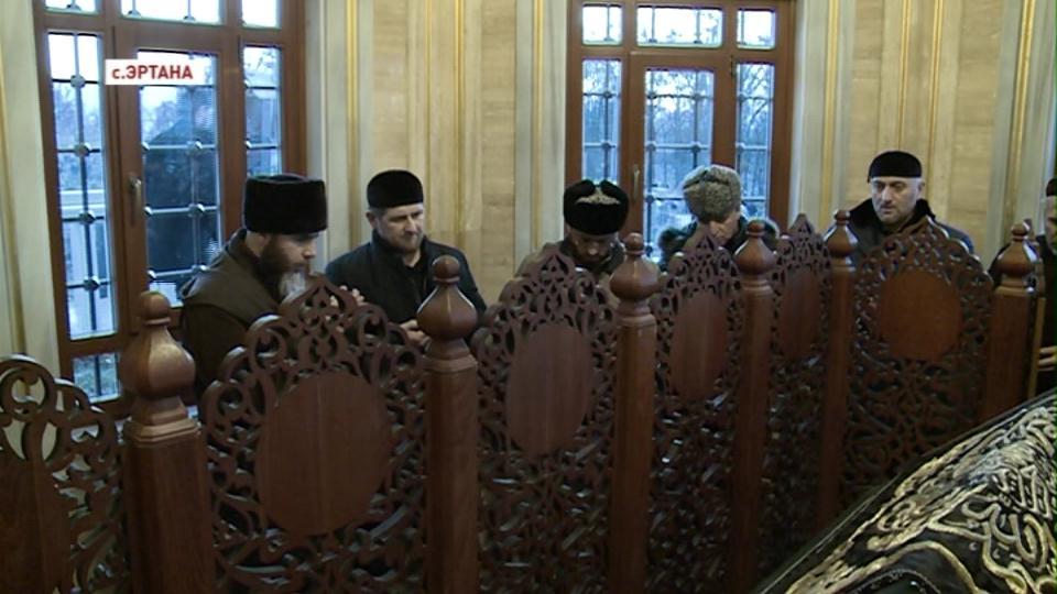 Р.Кадыров посетил Веденский район