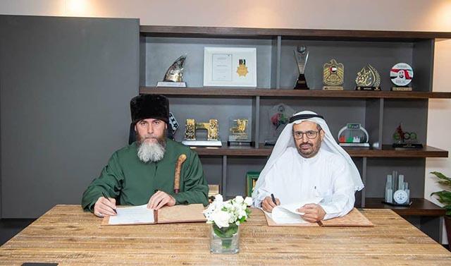 Муфтий Чечни договорился о сотрудничестве с советом мусульманских сообществ