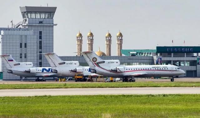 Аэропорт Грозного возобновил международные авиаперелеты